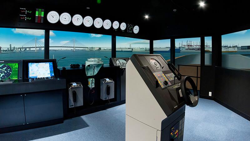 ビジュアル操船シミュレーション