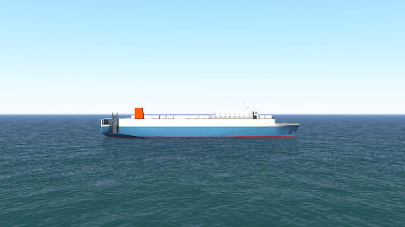 カスタムメイドの船型モデル