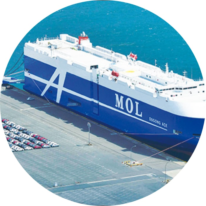 自動車船輸送 MOL Auto Carrier Express