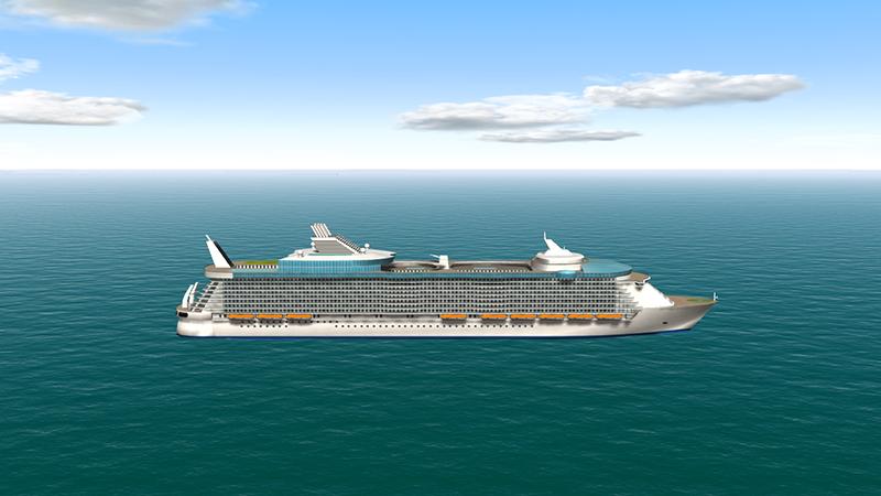 大型客船の安全な操船・係留