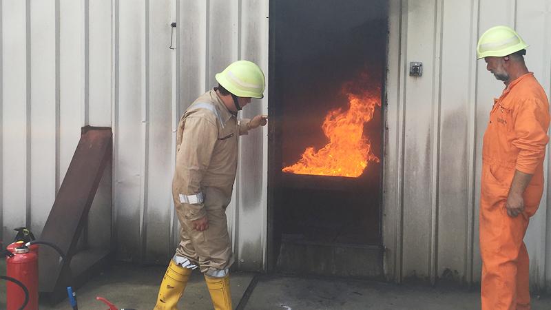 NEW 消火訓練棟