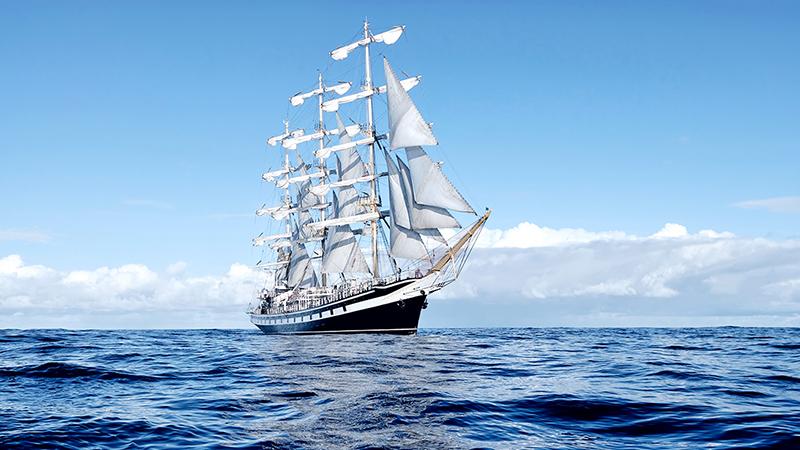 帆船の推進の原理